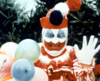 Gacy as a clown